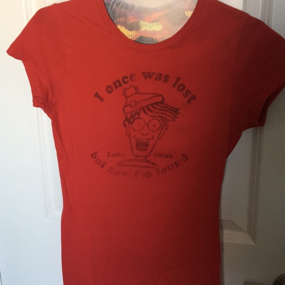 255c812342 Vintage Tops | Wheres Waldo Christian Tshirt | Poshmark